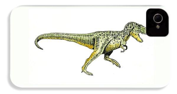 Tyrannosaurus Rex IPhone 4s Case by Michael Vigliotti