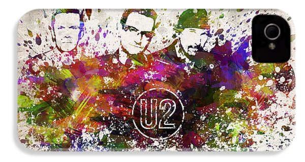 U2 In Color IPhone 4s Case by Aged Pixel