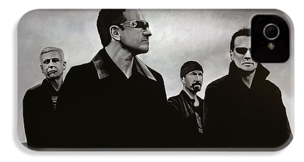 U2 IPhone 4s Case by Paul Meijering