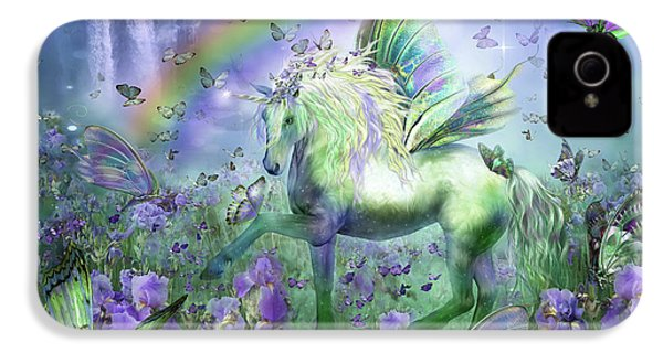 Unicorn Of The Butterflies IPhone 4s Case