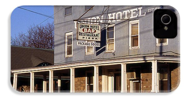 Union Hotel IPhone 4s Case by Skip Willits
