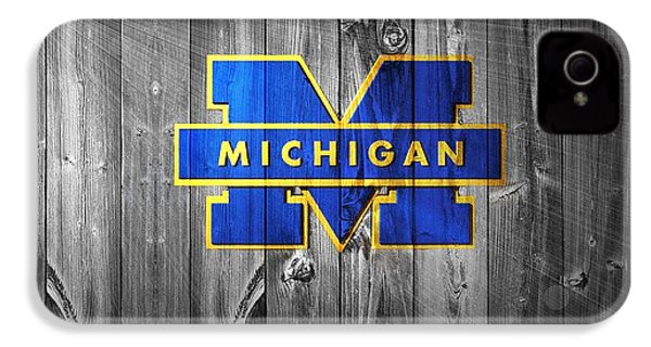 University Of Michigan IPhone 4s Case by Dan Sproul