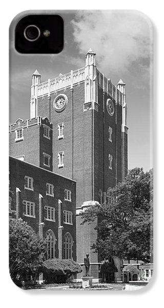 University Of Oklahoma Union IPhone 4s Case by University Icons