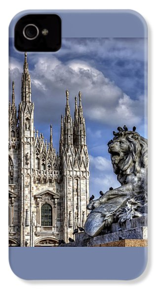 Urban Jungle Milan IPhone 4s Case by Carol Japp