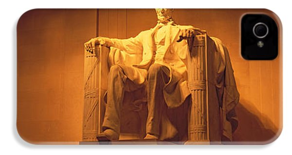 Usa, Washington Dc, Lincoln Memorial IPhone 4s Case by Panoramic Images