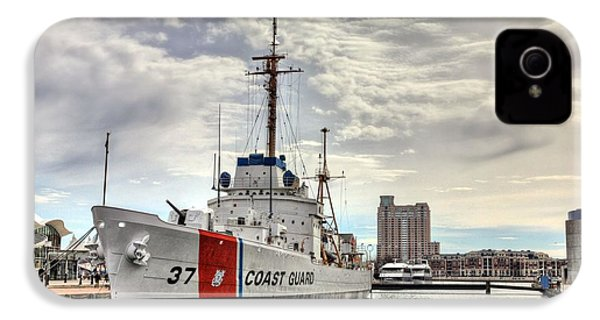 Uscg Cutter Taney IPhone 4s Case by JC Findley