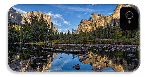 Valley View I IPhone 4s Case by Peter Tellone