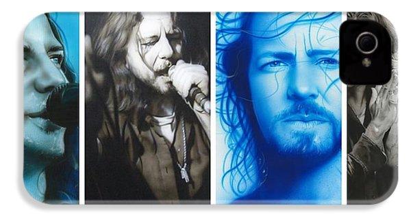 Eddie Vedder - ' Vedder Mosaic I ' IPhone 4s Case by Christian Chapman Art
