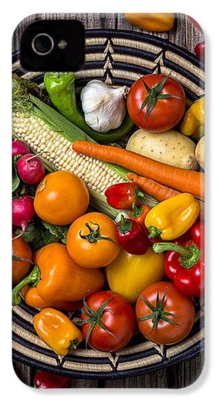 Vegetable Basket    IPhone 4s Case by Garry Gay