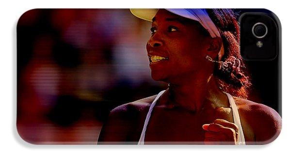 Venus Williams IPhone 4s Case by Marvin Blaine