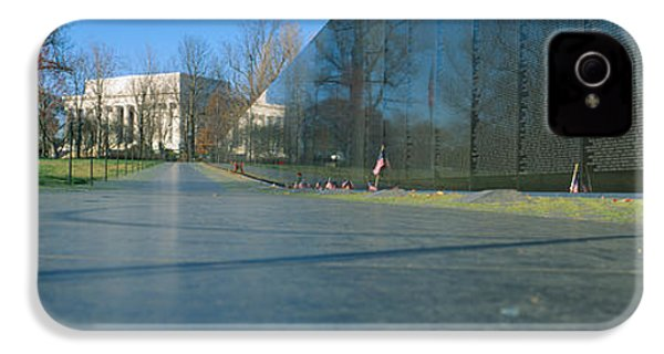Vietnam Veterans Memorial, Washington Dc IPhone 4s Case by Panoramic Images