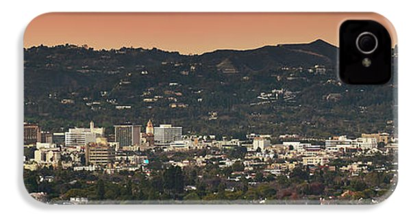 View Of Buildings In City, Beverly IPhone 4s Case by Panoramic Images