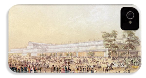 View Of The Crystal Palace IPhone 4s Case by George Baxter