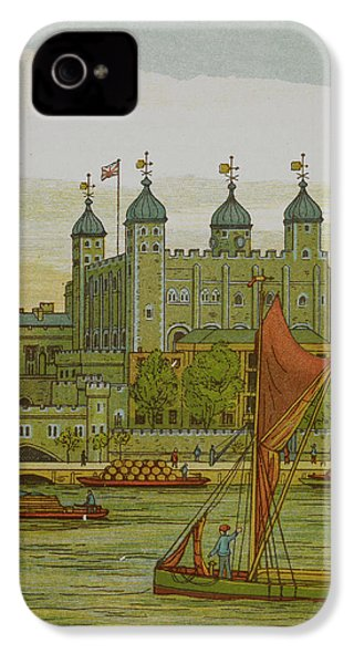 View Of The Tower Of London IPhone 4s Case by British Library