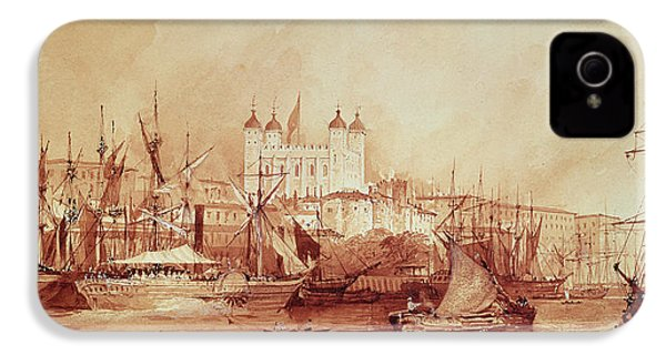View Of The Tower Of London IPhone 4s Case by William Parrott