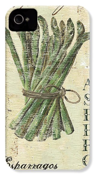 Vintage Vegetables 1 IPhone 4s Case by Debbie DeWitt