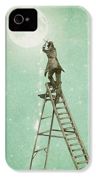 Waning Moon IPhone 4s Case by Eric Fan