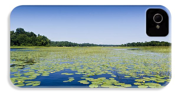 Water Lilies IPhone 4s Case by Gary Eason