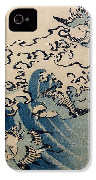 Waves And Birds IPhone 4s Case