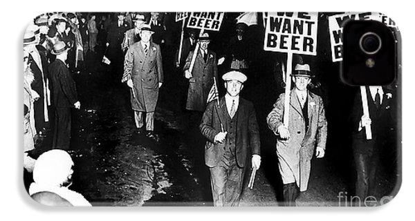 We Want Beer IPhone 4s Case by Jon Neidert