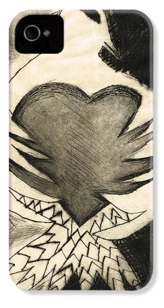 White Dove Art - Comfort - By Sharon Cummings IPhone 4s Case by Sharon Cummings