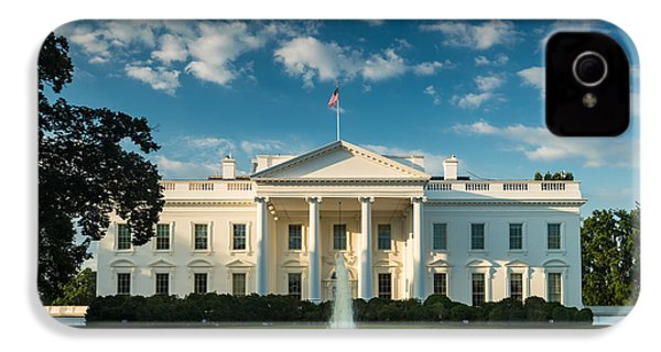 White House Sunrise IPhone 4s Case by Steve Gadomski