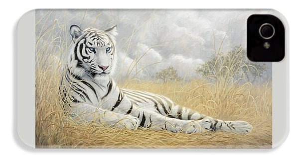 White Tiger IPhone 4s Case