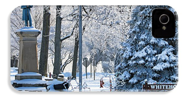 Whitehouse Village Park  7360 IPhone 4s Case by Jack Schultz