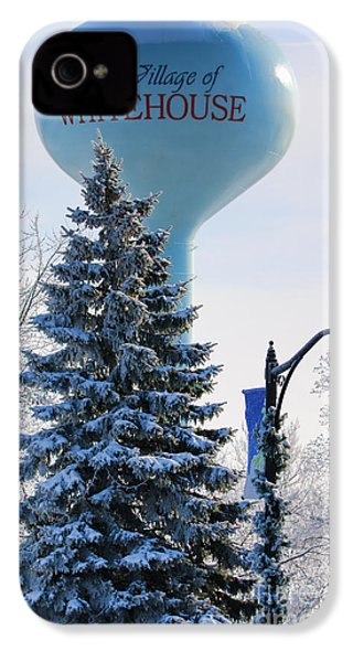 Whitehouse Water Tower  7361 IPhone 4s Case by Jack Schultz