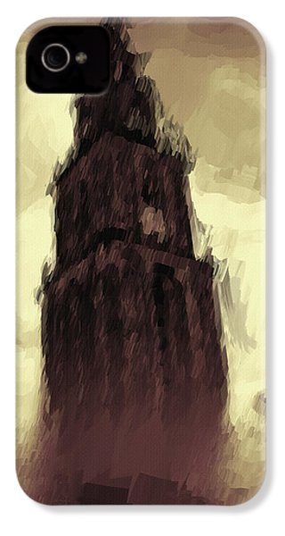Wicked Tower IPhone 4s Case by Ayse Deniz
