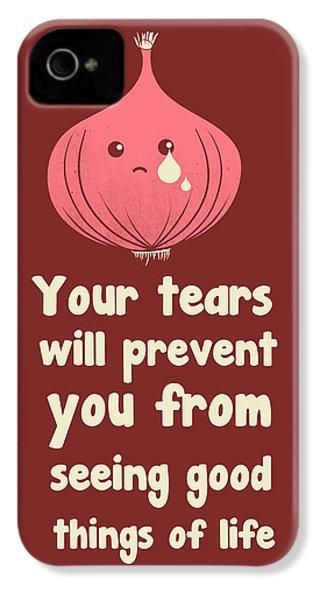 Wipe Off Your Tears IPhone 4s Case by Neelanjana  Bandyopadhyay