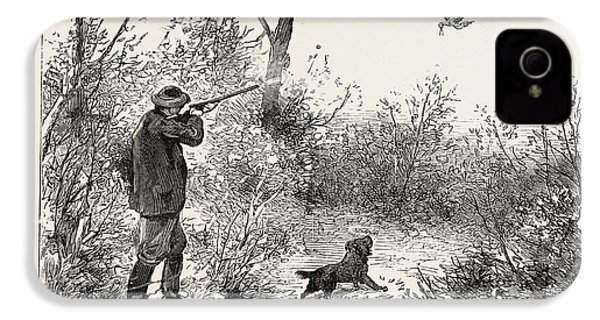 Woodcock Shooting IPhone 4s Case by English School