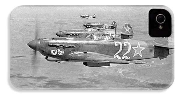 Yakovlev Yak-9 Fighters, 1942 IPhone 4s Case by Ria Novosti