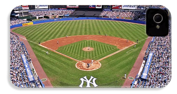 Yankee Stadium IPhone 4s Case by Allen Beatty