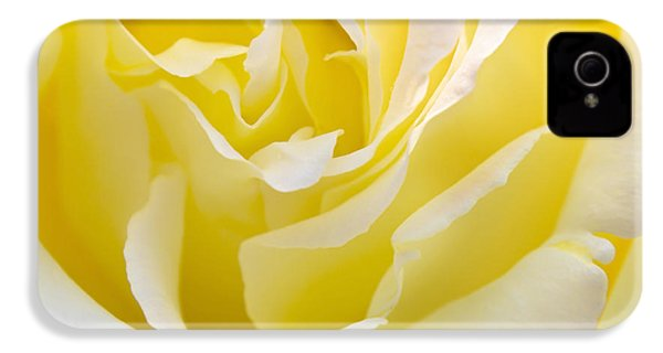 Yellow Rose IPhone 4s Case