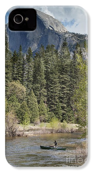 Yosemite National Park. Half Dome IPhone 4s Case by Juli Scalzi