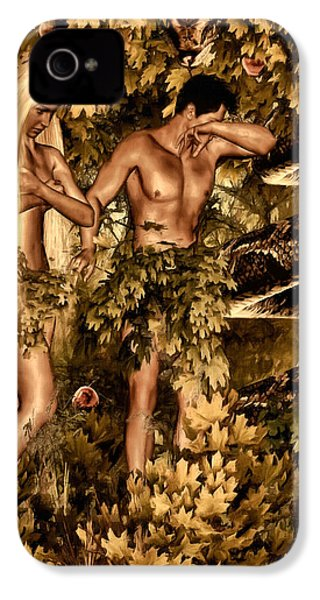 Birth Of Sin IPhone 4s Case by Lourry Legarde