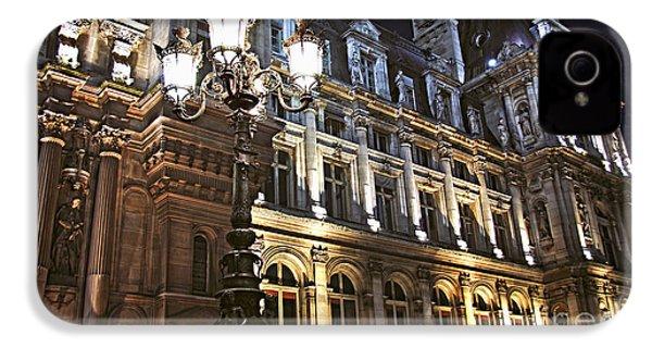 Hotel De Ville In Paris IPhone 4s Case