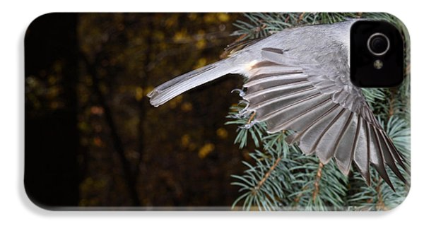 Tufted Titmouse In Flight IPhone 4s Case
