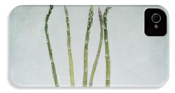 A Bunch Of Asparagus IPhone 4s Case by Priska Wettstein