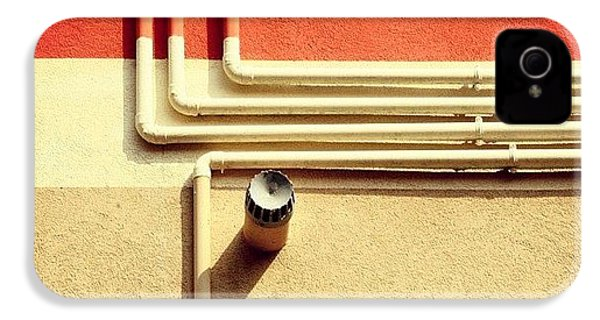 All That Jazz #geometry #color #pipes IPhone 4s Case
