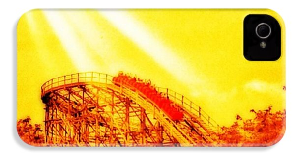 #amazing Shot Of A #rollercoaster At IPhone 4s Case by Pete Michaud