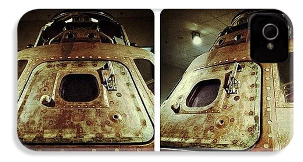 Apollo 15 Command Module (4th Mission IPhone 4s Case by Natasha Marco