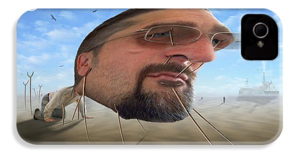 Awake . . A Sad Existence 2 IPhone 4s Case by Mike McGlothlen
