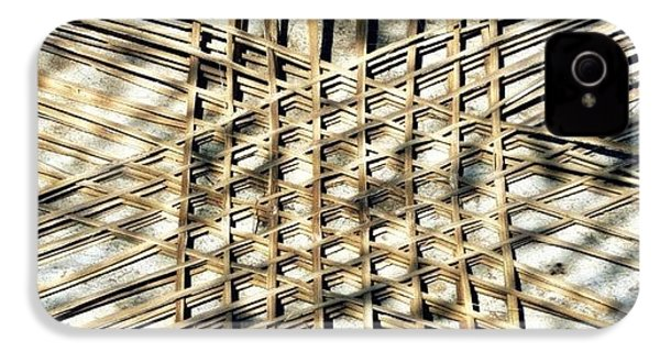 Basket Case.. Thailand #basketmaking IPhone 4s Case by A Rey