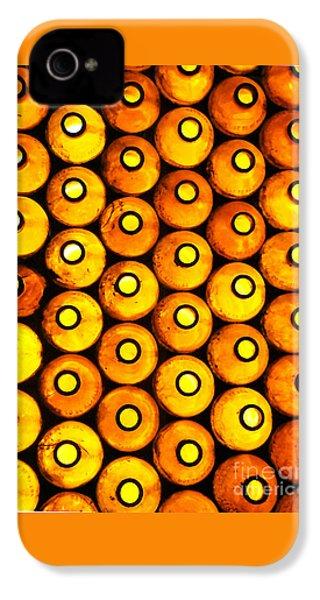 Bottle Pattern IPhone 4s Case by Nareeta Martin
