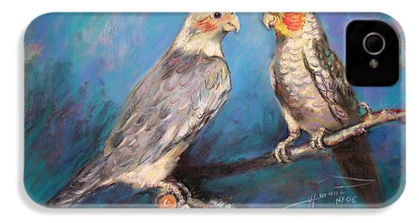 Coctaiel Parrots IPhone 4s Case by Ylli Haruni
