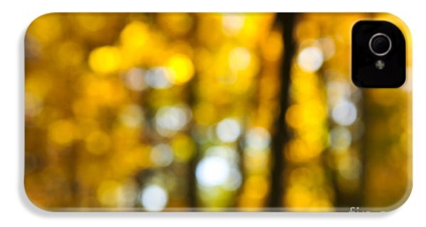 Fall Forest In Sunshine IPhone 4s Case