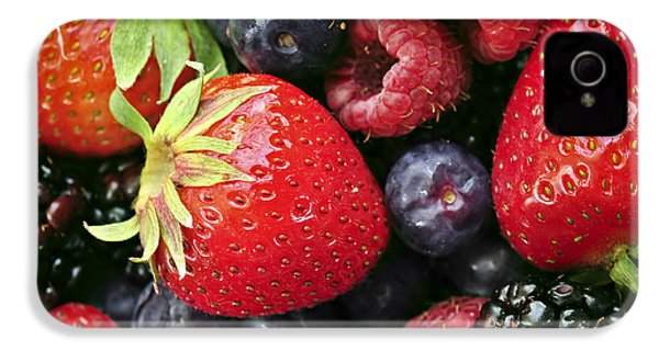 Fresh Berries IPhone 4s Case by Elena Elisseeva