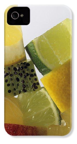 Fruit Squares IPhone 4s Case by Veronique Leplat